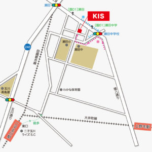 kitty-futako-tamagawa-campus-map