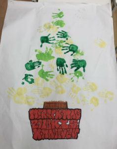 幼児が英語でアートを教わりました