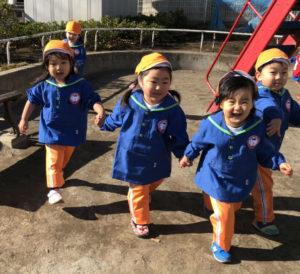 英語幼稚園KISの外遊び