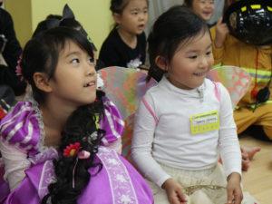 英語幼稚園のハロウィン仮装イベント